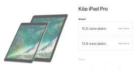 Köp IPad Pro