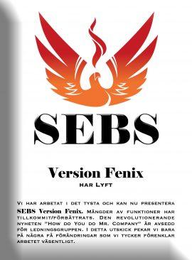 SEBS NL 1 -  Release av SEBS Version Fenix