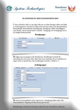 SEBS NL 11 - Så använder Du resultatrapporten
