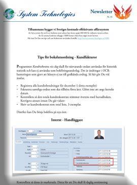 NL 24 - Kundreskontra vid bokslut