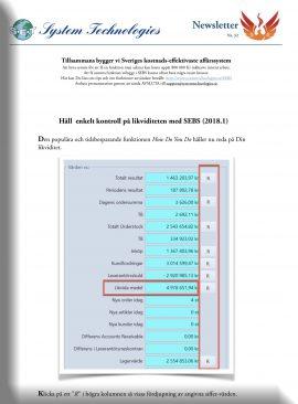 SEBS NL 32 - Företagets likviditet