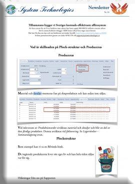 SEBS NL 33 - Producera eller Plockstruktur