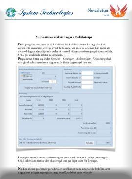 SEBS NL 48 - Automatiska avskrivningar