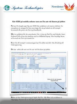 SEBS NL 49 - Kör SEBS på surplattor/telefoner