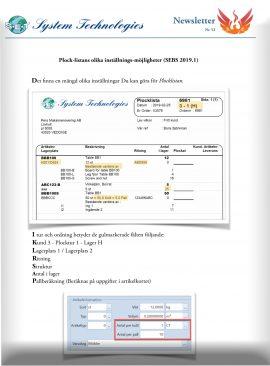 SEBS NL52 - Plocklistan