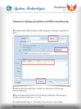 SEBS NL 56 - Revisionshantering