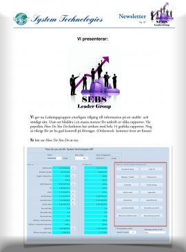 SEBS NL 57 - SEBS Leader Group