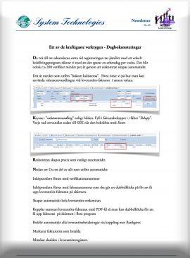 SEBS NL 66 - Dagboksprogrammet