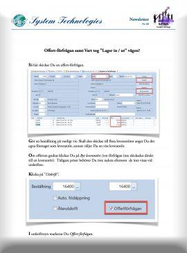 SEBS NL 68 - Offertförfrågan