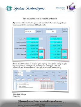 SEBS NL 81 - Täcknings-grad och spårning